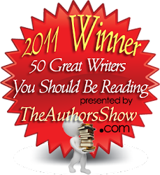 Doug is 1st Place Winner of the 50 Great Writers You Should Be Reading Award!