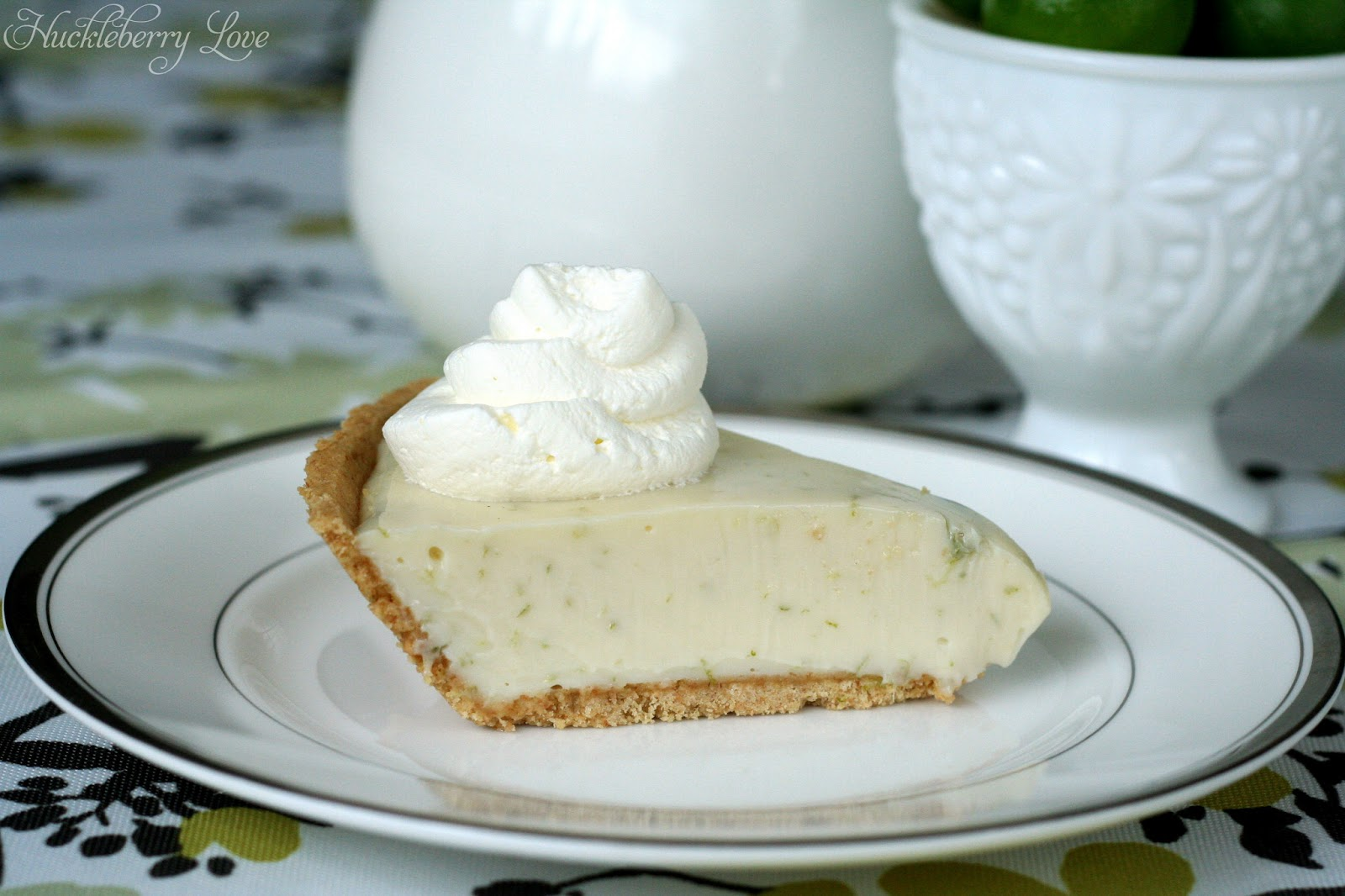Huckleberry Love: Heavenly Key Lime Pie {Recipe}