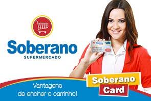 Você já tem o Soberano Card?