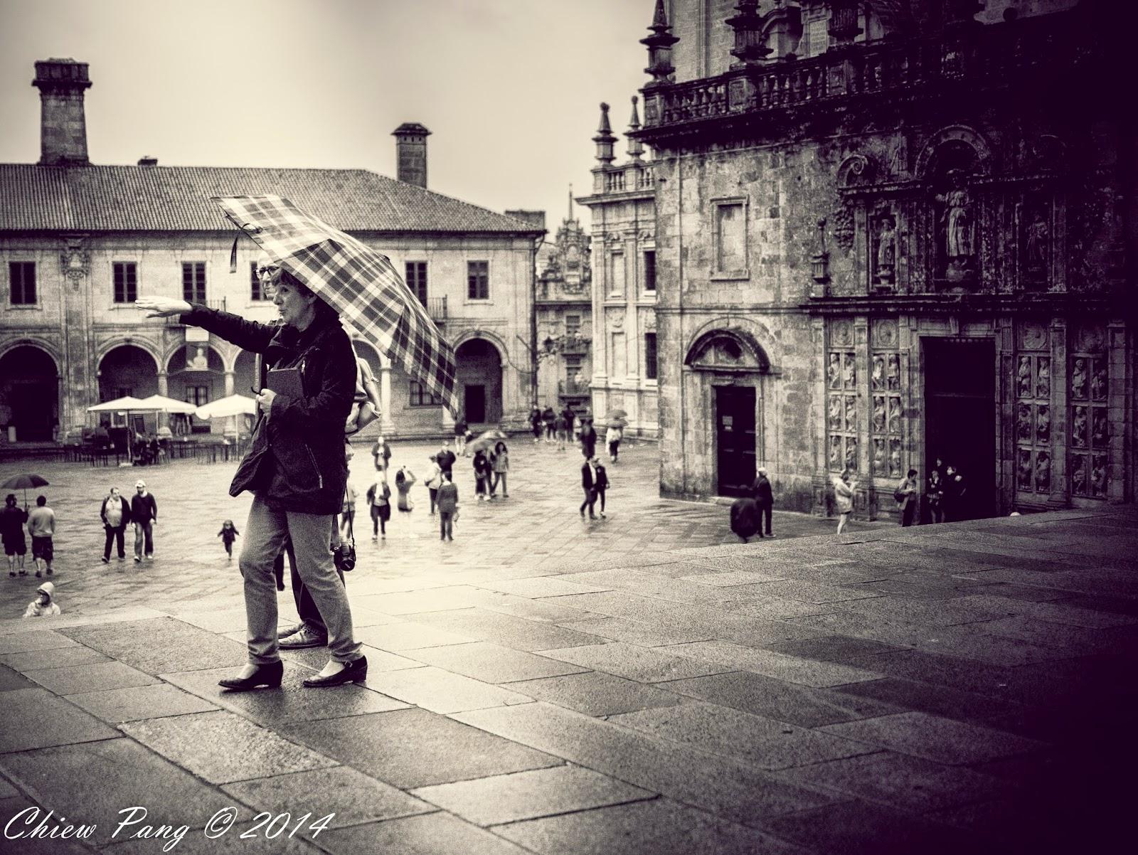 Street photography in Santiago de Compostela