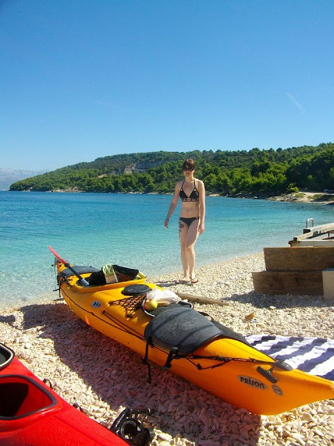 Sea Kayaking, split