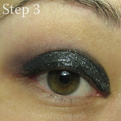 new year's eve makeup tutorial with chanel illusion d'ombre 85