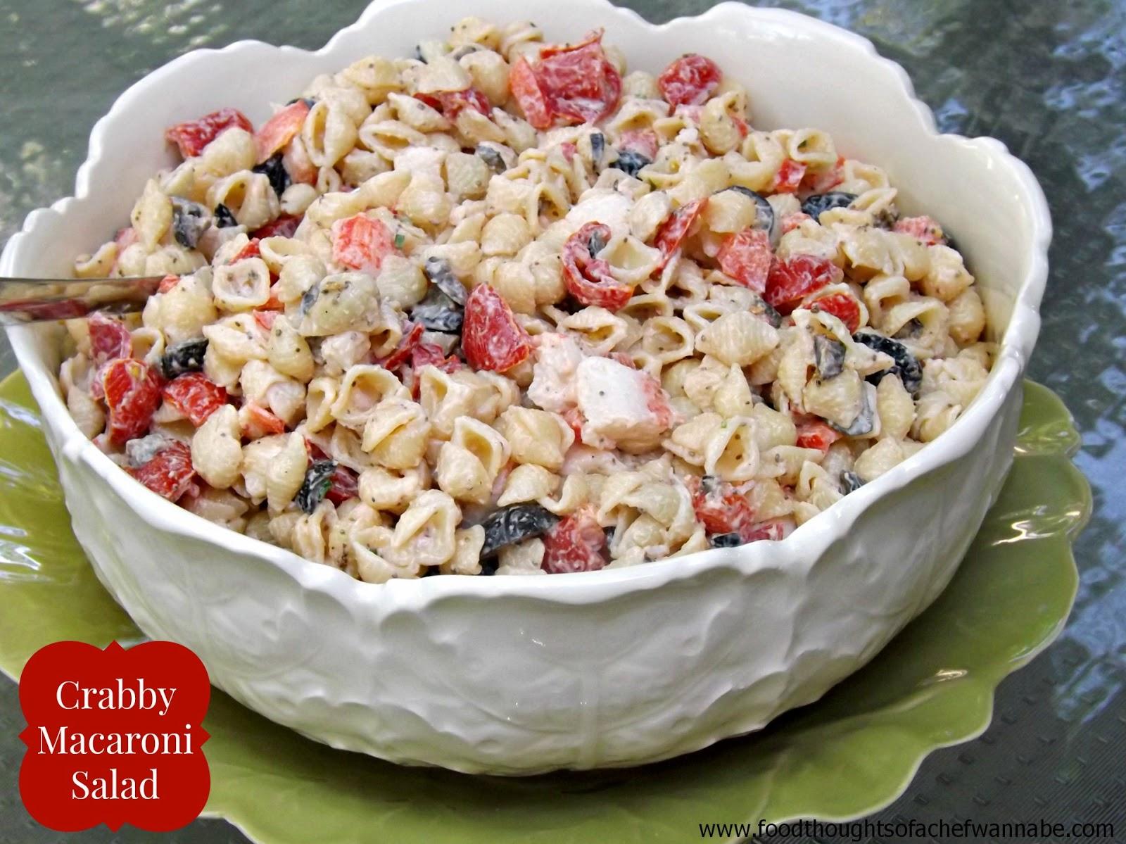 Crabby Macaroni Salad