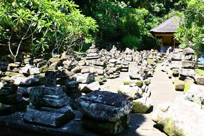 Collapsed Ruin near Goa Gajah Gianyar Bali