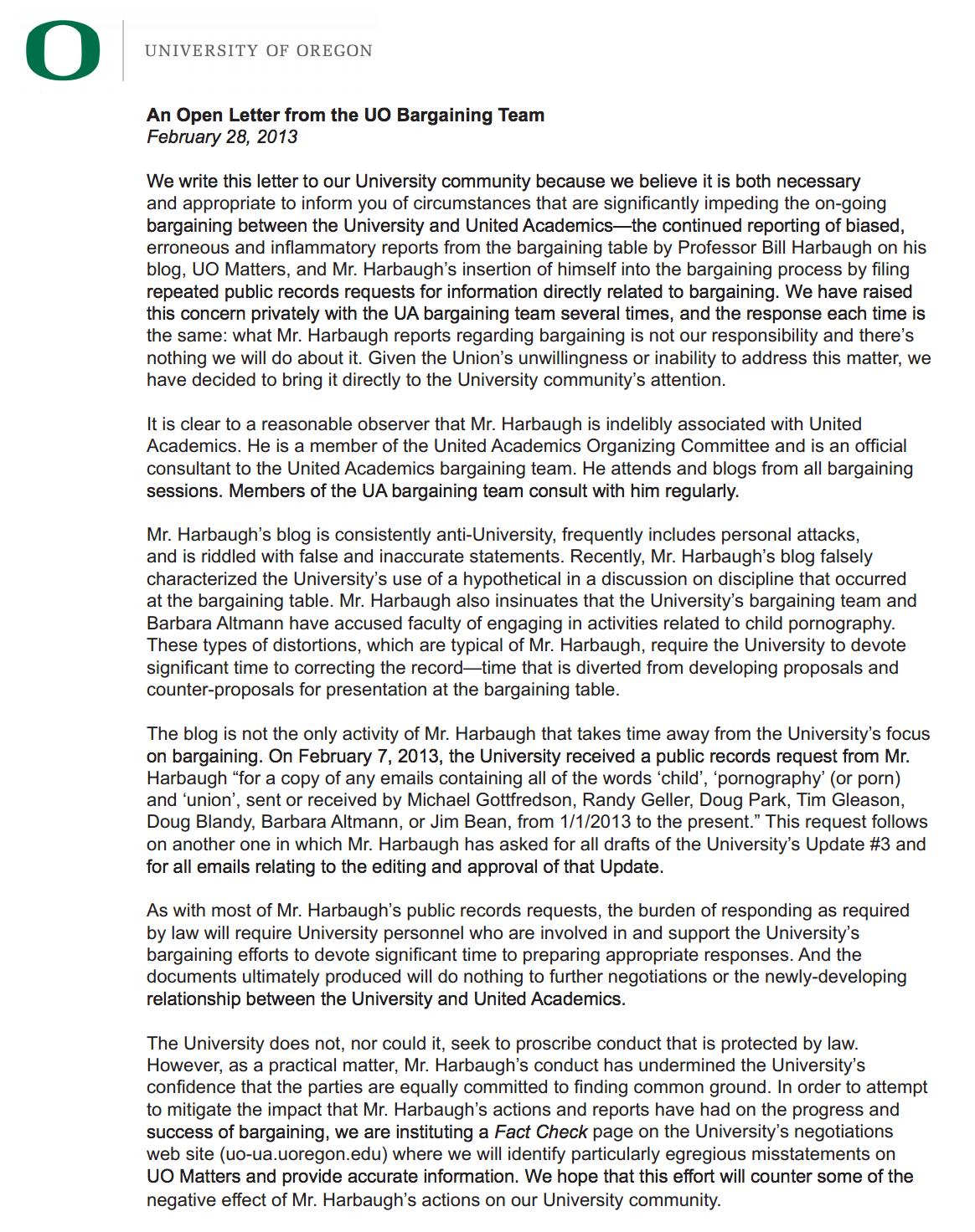Cover letter university professor application