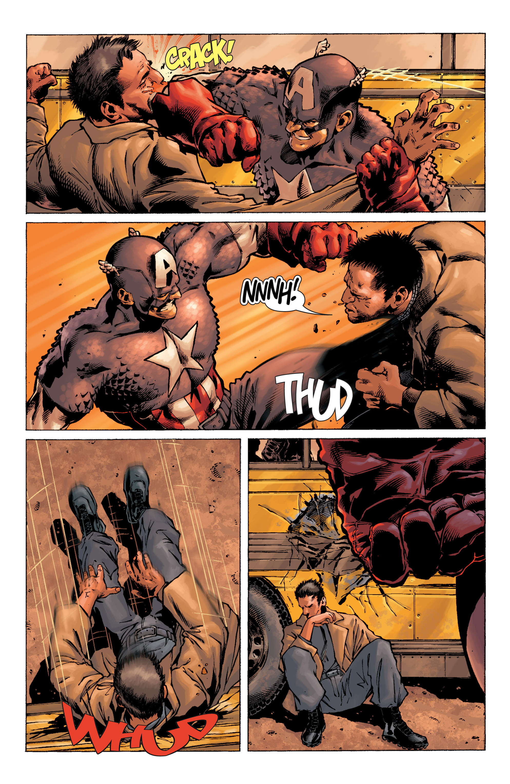 Captain America (2002) Issue #9 #10 - English 5