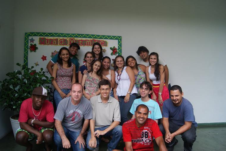 Turma do PIBID/2011/MAT/EM