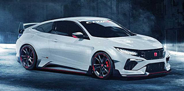 2018 Honda Civic Type R Rendered