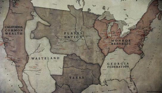 Revolution TV Series Map