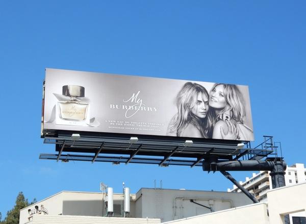 My Burberry fragrance billboard 2015