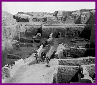 Kish, excavación de Kish, Sumer, Mesopotamia, Ernest MacKay, Stephen Langdon, Genouillant