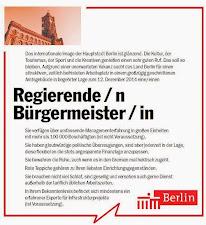 """Nach dem Cüpli-Sozi sucht Berlin einen """"REGIERENDEN Bürgermeister"""""""