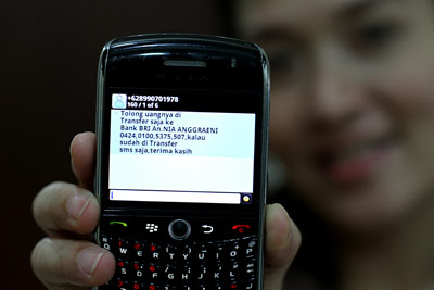 Meme Lucu Balasan SMS Penipuan
