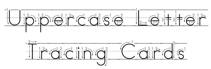 Number Names Worksheets : free printable alphabet letters upper ...