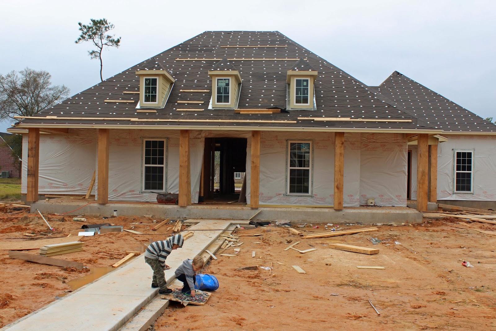 Harper custom homes for Cypress porch columns
