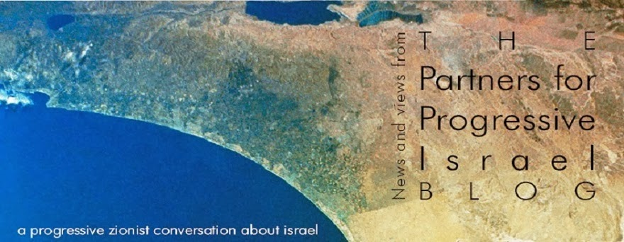 Partners for Progressive Israel Blog