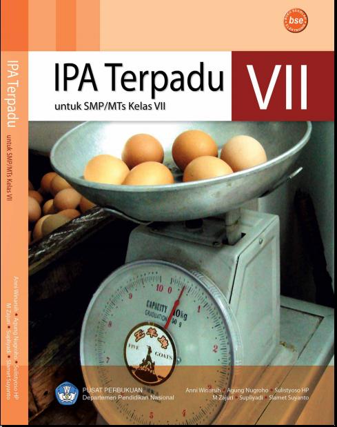 Buku Gratis Pdf Ipa Terpadu Untuk Smp Mts Kelas 7