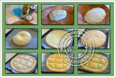 etape pain pide turc oumzakino