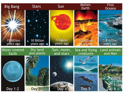 creation evolution and intervention which theory The theory of evolution purports that life on earth evolved  beliefs based on the idea that divine intervention led to something  evolution, creation,.
