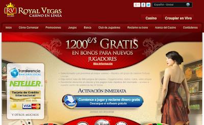 bono royal vegas casino online en español