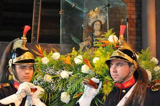 Imágens da abertura da festa de Santa Luzia em Mossoró - RN