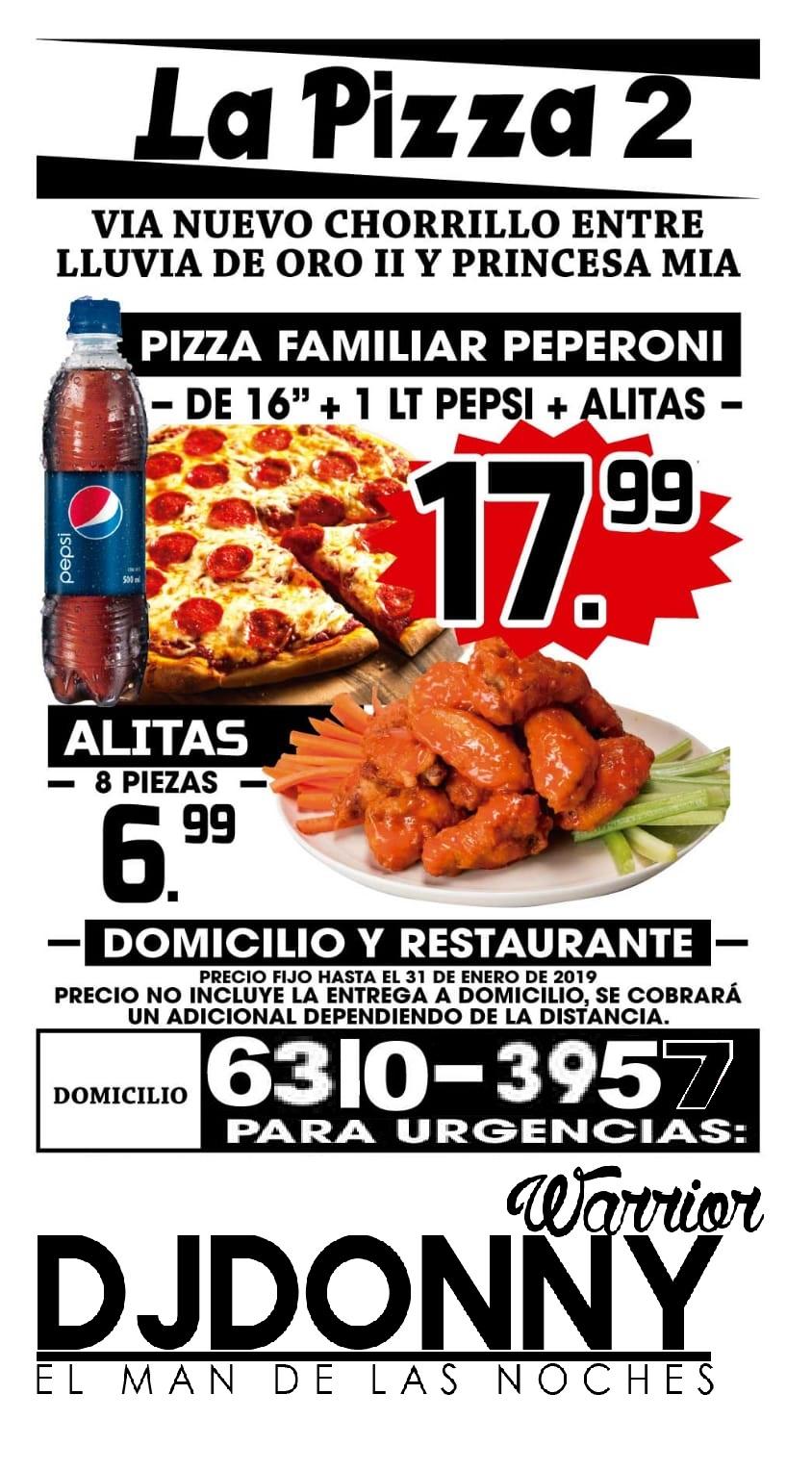 PUBLICIDAD DE CORTESIA PIZZA