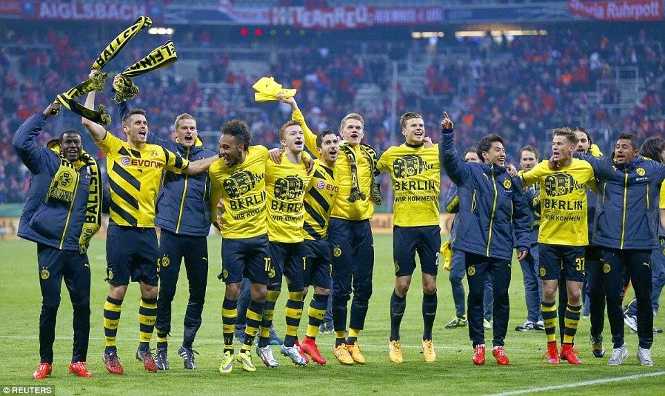 Highlights Bayern Munich 1 – 1 Borussia Dortmund (Pen 0-2)(DFB Pokal)