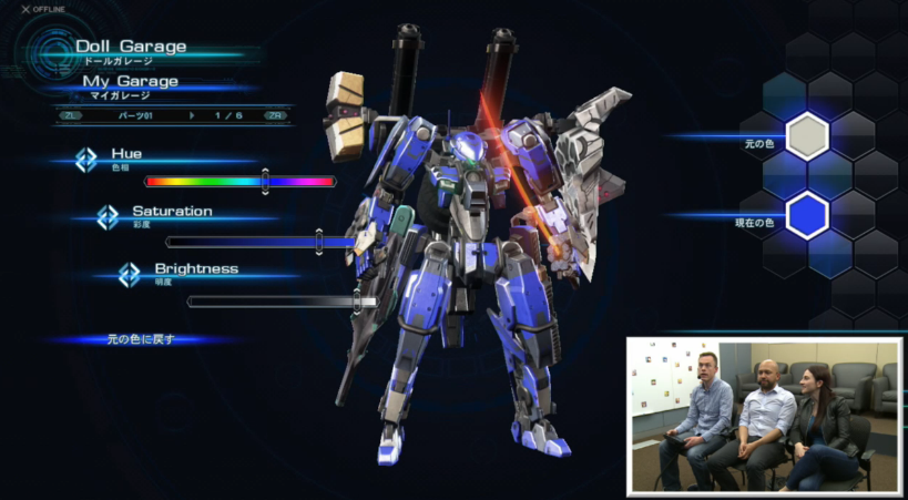 Xenoblade Chronicles X Doll Skell mecha Gundam Garage Nintendo Treehouse Wii U customization