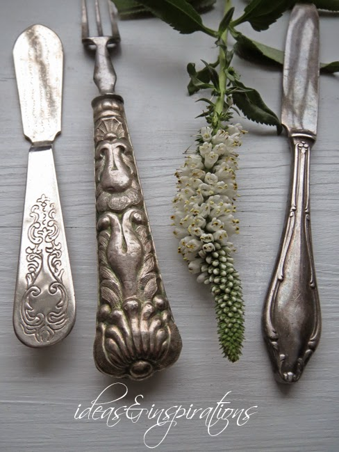 ideas and inspirations altes besteck old cutlery. Black Bedroom Furniture Sets. Home Design Ideas
