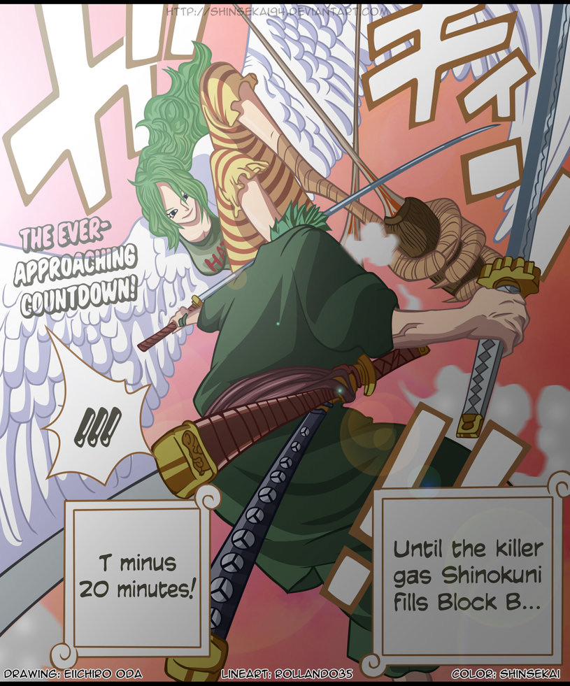 One Piece Chapter 687: Thú hoang 020