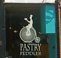 i proudly consume pastries at the pastry peddler in millbrook