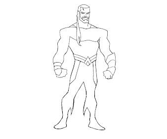 #9 Aquaman Coloring Page