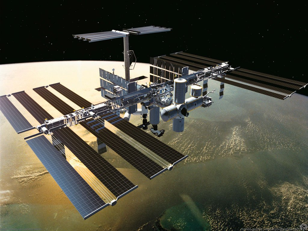 Space Satellite Wallpaper