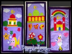 sajadah anak warna ungu