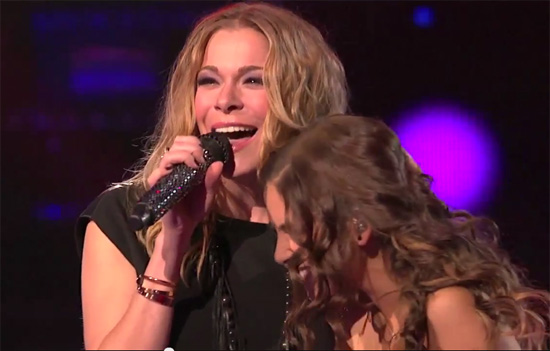 Leann rimes Carly Rose X-factor