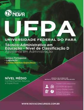 Apostila UFPA 2015 - Assistente em Administração (impressa)