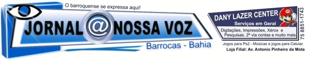 JORNAL @ NOSSA VOZ - BARROCAS - BA