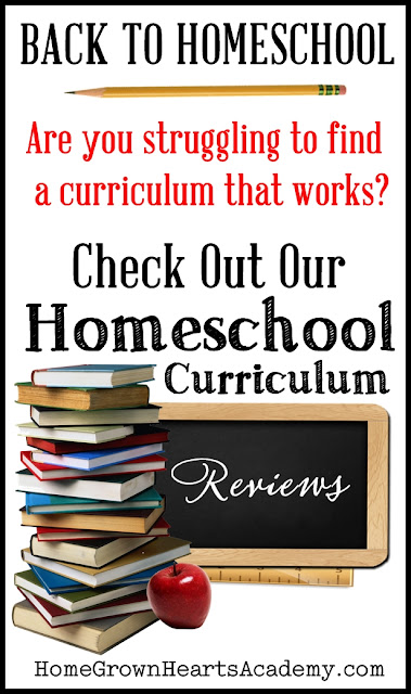Back To Homeschool! Check out our Homeschool Curriculum Reviews