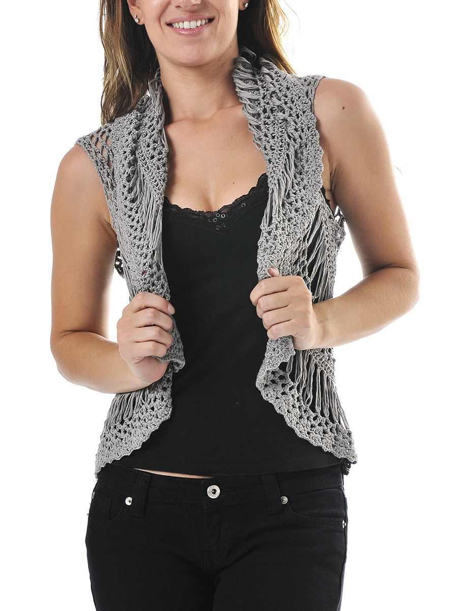 Crochet Vest : scalloped+hem+crochet+vest.jpg