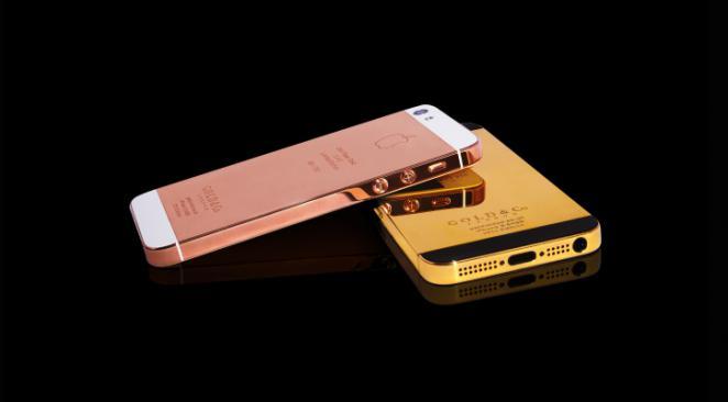 la lorgnette iphone 5 d apple un mod le en or 24 carats pour 5 100 euros. Black Bedroom Furniture Sets. Home Design Ideas