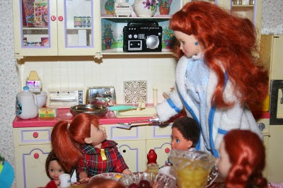 I Love The Madeline Dollhouse,(You Can See Mine HERE.), But The Dolls Never  Interested Me Much. There Are Some Really Cute Clothes Made For Them  Though, ...