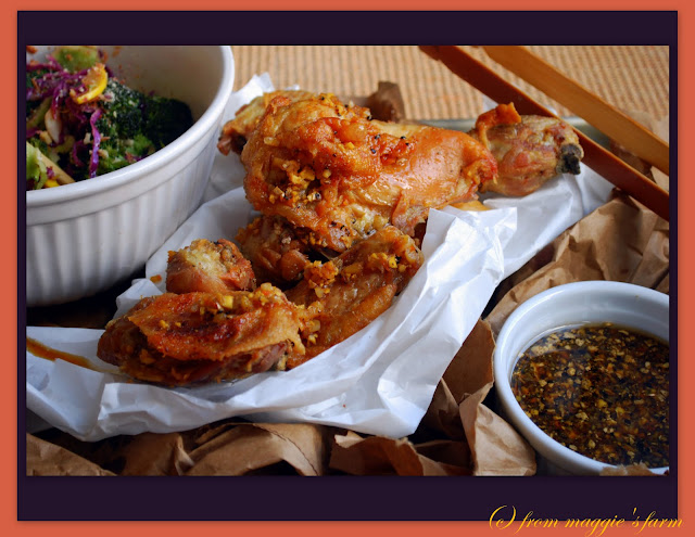 ... running with the 'in crowd': momofuku's chicken and octo vina...
