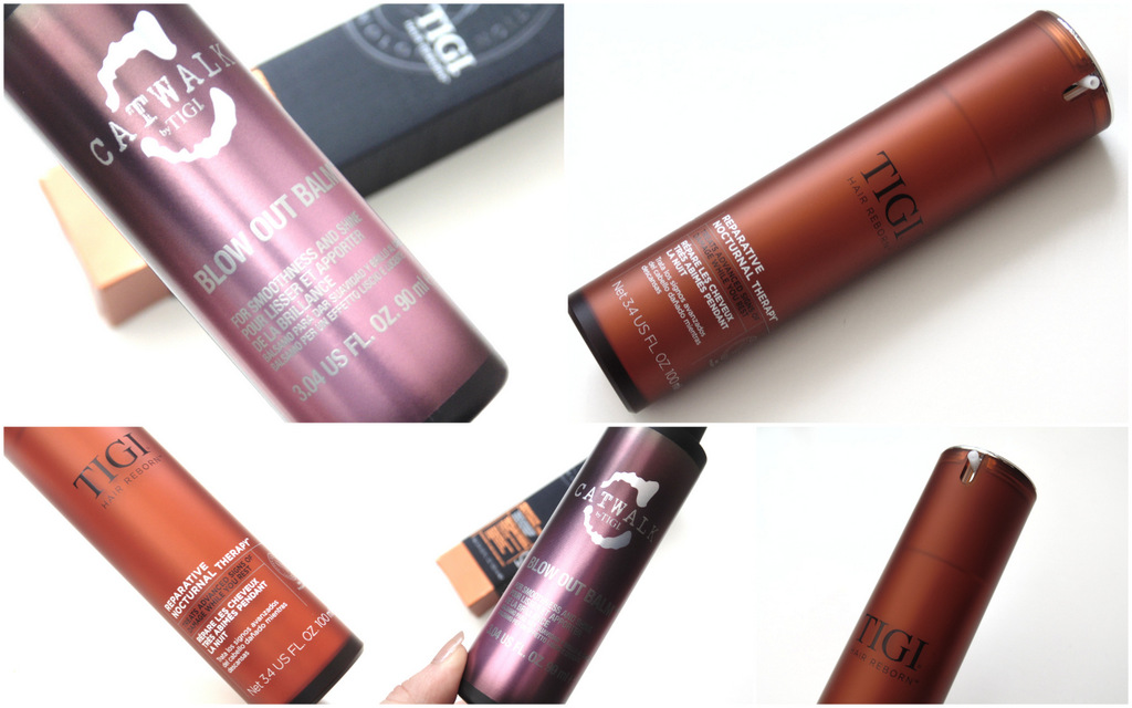 Tigi Nocturnal Therapy + Blow Out Balm