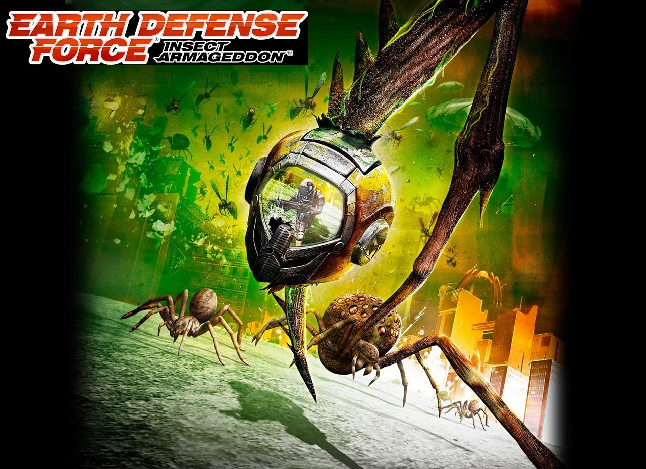 again ravage the earth and only the earth defense force can stop them