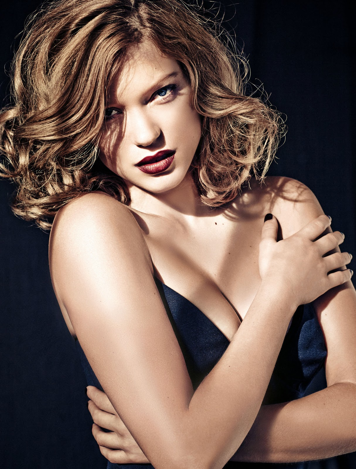 A bond girl Léa Seydoux