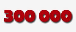 300.000 Grazie per 300.000 Visitatori
