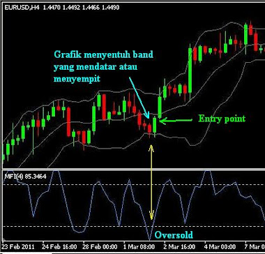 entry point untuk strategy buy bottom sell top