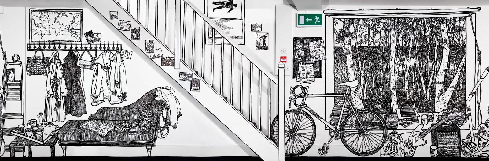 07-Artist-Charlotte-Mann-Draw-on-Walls-www-designstack-co