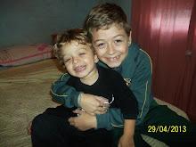 Foto con mi hermano