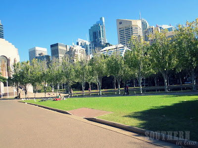 Hyde Park Sydney - Pool of Reflections